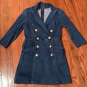 Denim Bebe dress